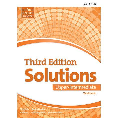 Solutions Third Edition Upper Intermediate Student S Book Teacher S Book Workbook With Key Teacher Books English For Beginners Student