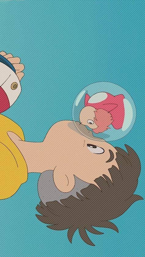 벼랑 위의 포뇨(2008) 배경화면