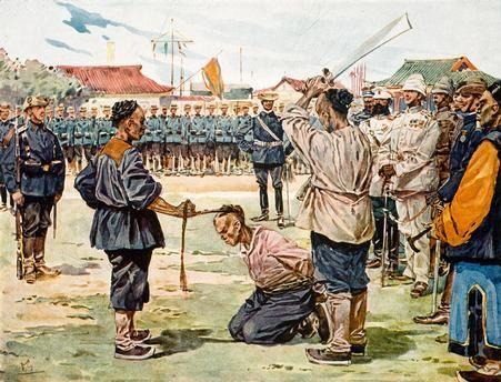China, Boxer Rising 1900/01. The murder of the German minister Klemens Freiherr von Ketteler on 16 June 1900.