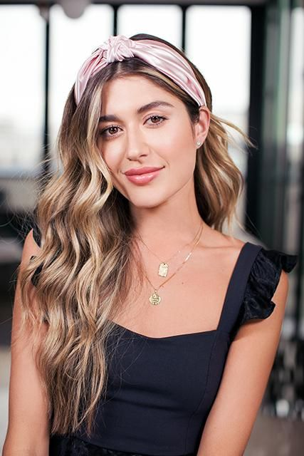 Pink Knot Headband Headband Hairstyles Hairband Hairstyle Hair Styles