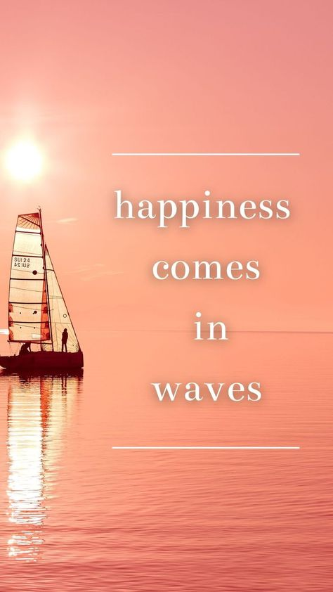 Wallpaper | Quote about the sea