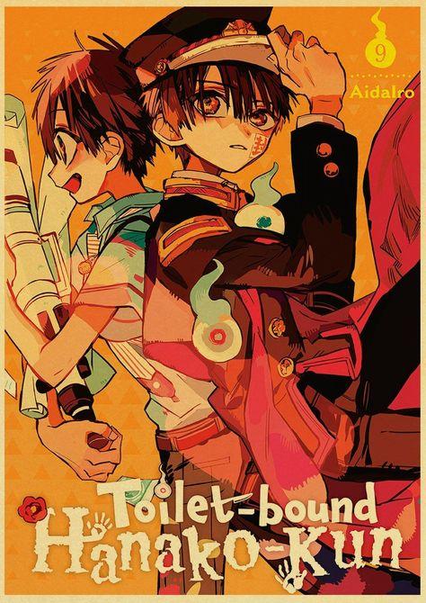 Back to College Jibaku Shounen Hanako-kun Anime Manga HD Print Retro Poster Wall Stickers For Living Room Home Art Decoration - 30X21cm-18 / E186 / China
