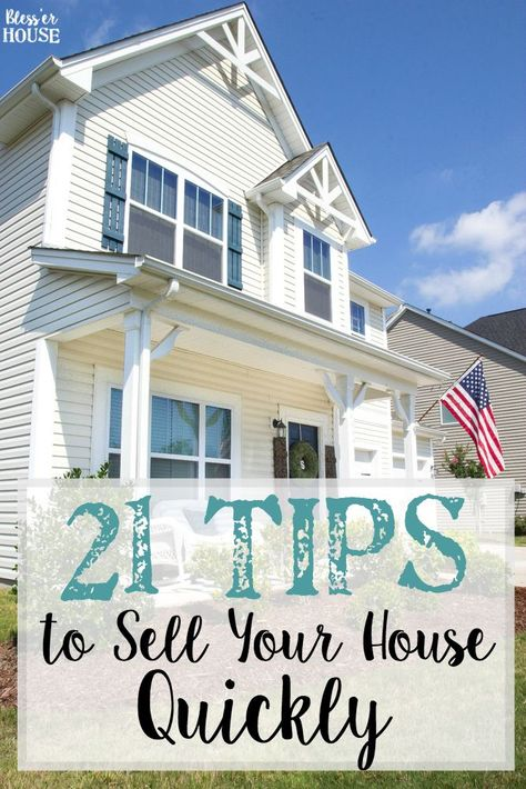 21 Tips to Sell Your House Quickly