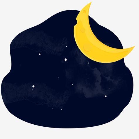 القمر الكرتون سماء الليل المرصعة بالنجوم خريطة زر القمر الحرة السماء المرصعة بالنجوم الزرقاء سماء الليل المرصعة بالنجوم القمر الأصفر خريطة زر القمر الحرة Png Illustration Superhero Logos Art
