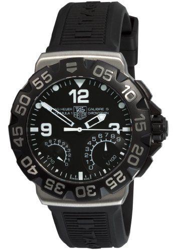 TAG Heuer Men's CAH7010.BT0717 Formula 1 Chronograph Black Dial Watch