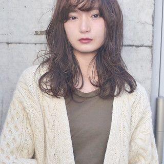 2019年春版 セミロング ウェーブ 最新髪型 アレンジのヘアカタログ