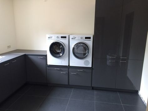 Hacking Laundry Room Cabinets And Washer Dryer Pedestal Ikea