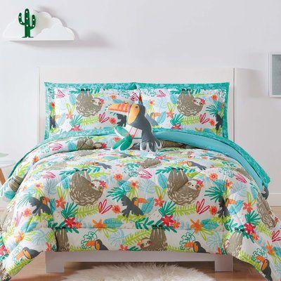 Zoomie Kids Holmgren Hanging Out Comforter Set Size Full Queen Comforter Sets Bed Linens Luxury Guest Room Bed