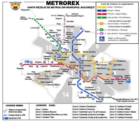 Transport In Bucharest Hartă Paris