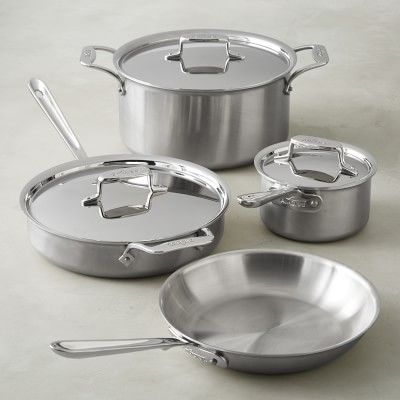 All Clad Copper Core 33 Piece Cookware Set Cookware Set All