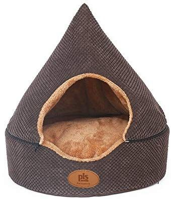 Amazon Com New Pls Birdsong Pointy Dog Cave Cuddle Dog Bed Soft Dog House Two Modes Pet Bed Dog Beds For Small Dog Beds For Small Dogs Dog Cave Dog Bed