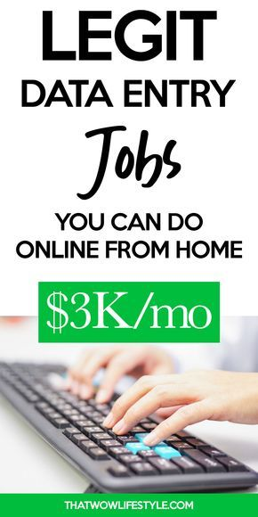 Best Data Entry Jobs To Make Money Online From Home