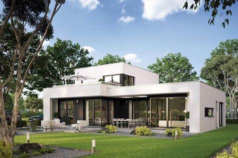 Schön Fertighaus Casaretto, Architektenhaus Mit Dachterrasse Von Büdenbender |  Moderne Häuser | Pinterest | Bungalow, Architecture And Bauhaus