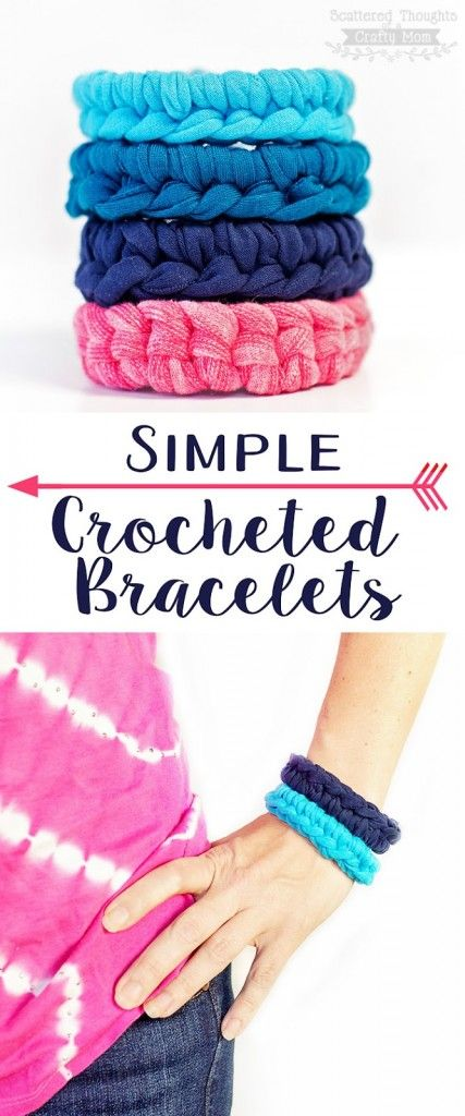Learn How To Make This Simple Crochet Bracelet Using A Magic Circle