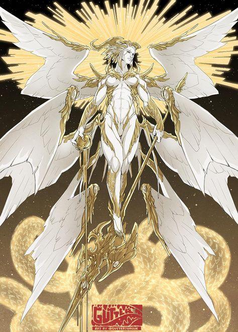 guttertongue (@guttertongue) / Twitter Character Design Inspiration, Fantasy Characters, Character Design, Fantasy Art, Fantasy Creatures, Fantasy Character Design, Fantasy Monster, Angel Art, Dark Fantasy Art