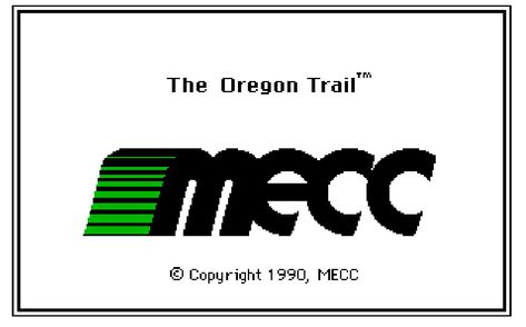 Developed by MECC back in 1990, The Oregon Trail is a