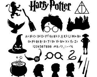 Harry Potter Svg Files Harry Potter Alphabet Harry Potter Pack For Silhouette Circut Harry Potte Harry Potter Alphabet Harry Potter Classroom Harry Potter Logo
