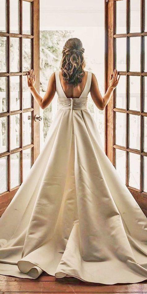 24 Stunning Cheap Wedding Dresses Under $1,000 ❤  #weddingforward #wedding #bride