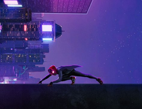 HD wallpaper: spiderman into the spider verse, 2018 movies, animated movies
