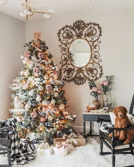 The Most Wonderful Time Of Year Is Finally Here My Dream Tree Challenge In Collaboration With Michaelsstor Holiday Inspiration Holiday Decor Christmas Tree