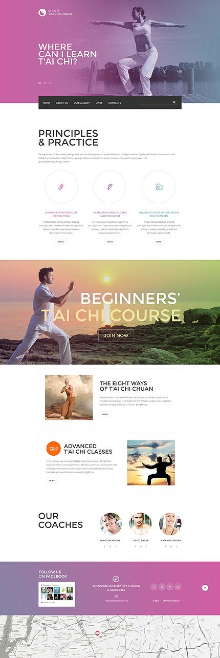 parallax web templates