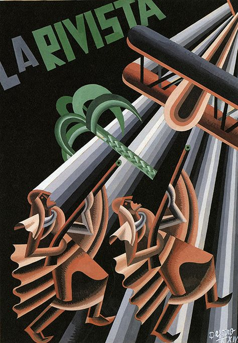 Steven Heller takes a look at Fortunato Depero's comical figurative abstractions.