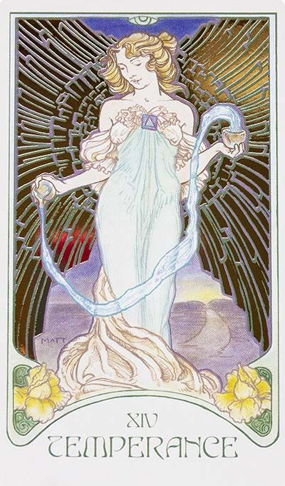 Temperance Card Meaning - Ethereal Visions Tarot