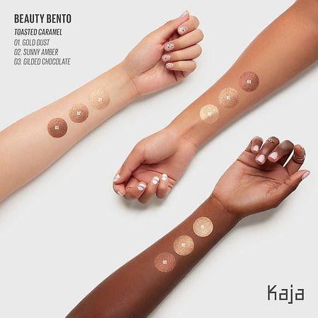 Beauty Bento Bouncy Shimmer Eyeshadow Trio - Chocolate Dahlia by Kaja Beauty #14