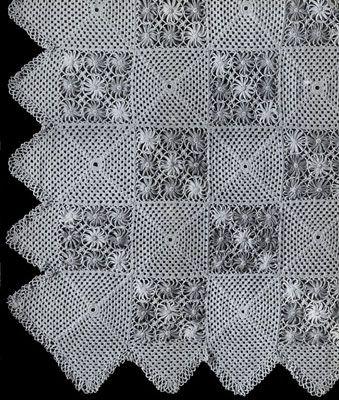 Daisy Knitter Bedspread Pattern