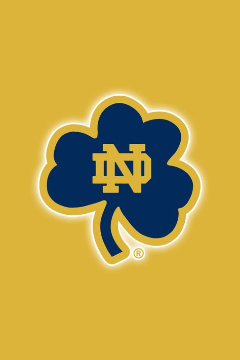 Set of 12 Officially NCAA Licensed Notre Dame Fighting Irish iPhone Wallpapers