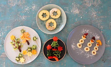 5 Ideen für weihnachtliches Fingerfood aus Obst und Gemüse - für Babys und Kleinkinder, #aus #Babys #Fingerfood #für #Gemüse #Ideen #Kleinkinder #Obst #und #weihnachtliches