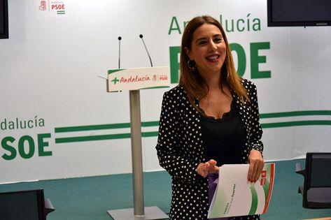 """""""Lo que tienen que hacer Moreno Bonilla y Marín, PP y Ciudadanos, es romper con la extrema derecha"""", aseguran los socialistas.    La secretaria"""
