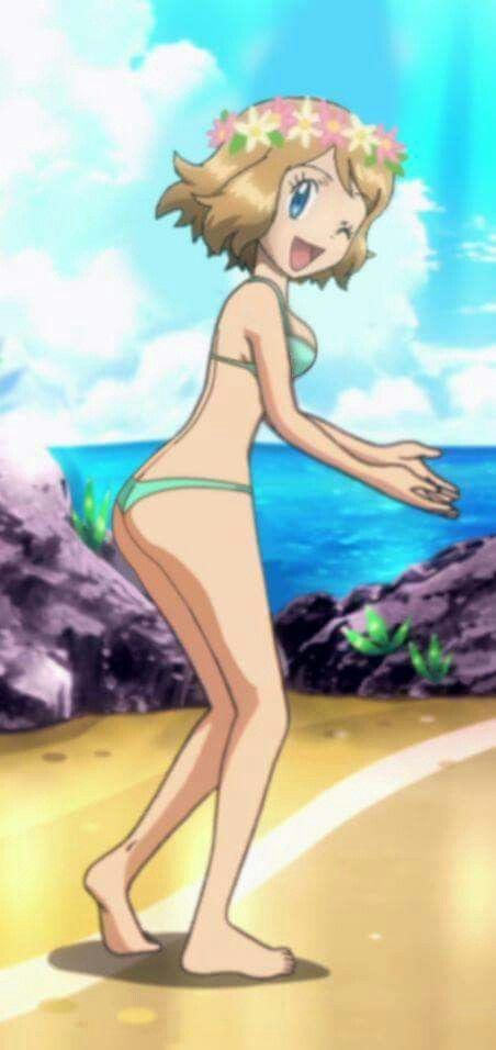 Pokemon nude and serena x late, than