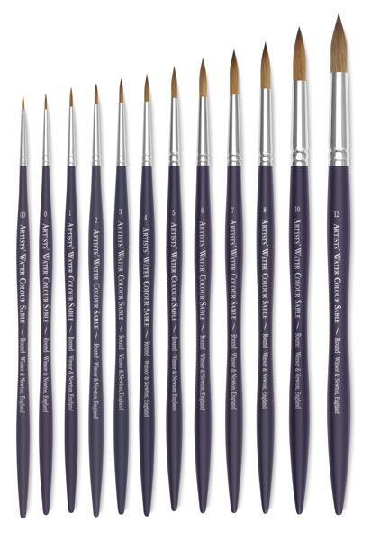 Winsor Newton Artists Watercolor Brushes In 2020 Watercolor