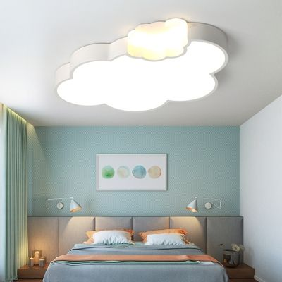 Quique Acrylic Kids Room Led Ceiling Lamp Cloud Shape Study Room Kids Kids Ceiling Lights Ceiling Lamps Bedroom