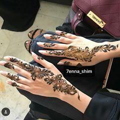 صور نقش الحناء Hand Henna Henna Designs Henna
