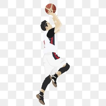 Handsome Basketball Player Decorative Element Decorative Element Athlete Basketball Png Transparent Image And Clipart For Free Download Basketball Players Clip Art Artwork