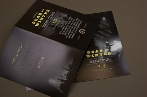 Rock Festival Brochure Template - This brochure would be - music brochure