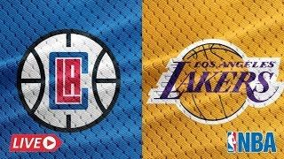 Nba Live La Lakers Vs Clippers 2020 Full Game Live In 2020 Lakers Vs Clippers Nba Live Full Games