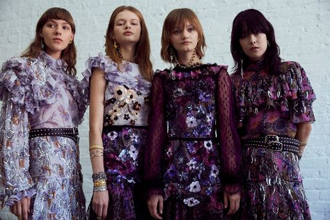 Rodarte SS17    #fashions, #fashionist, #fashionlook, , #fashionphoto, #fashiontrend, #luxuryfashion, #musthaves, #couturedress, #haute,