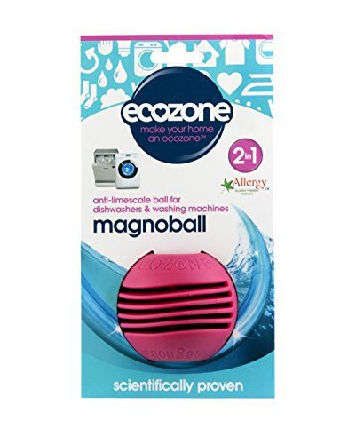 Ecozone Magnoball Anti Limescale Ball Washing Machine Dishwasher Dishwasher Cleaner