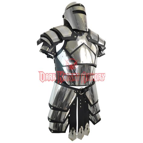 Medieval Armour has all your armour needs for the renaissance fairs or medieval re-enactments. We carry high quality battle-ready and functional leather armour, steel armour, chainmail armour, helmets, and shields.