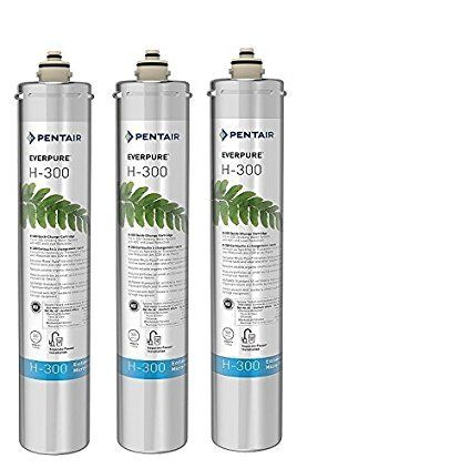 Everpure H-300 Water Filter Replacement Cartridge Pack of 3