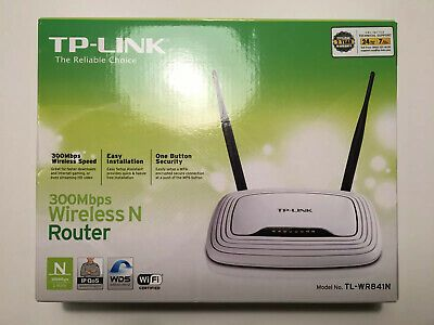 TP-Link TL-WR841N 300 Mbps 4-Port 10//100 Wireless N Router