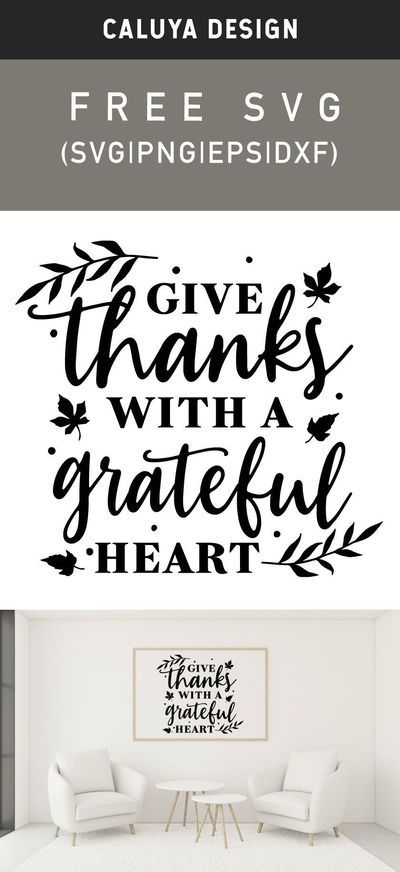 View Be Grateful And Give Thanks – Svg File Crafter Files