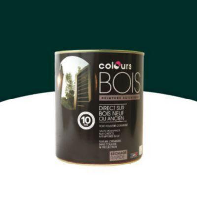Peinture Bois Interieur Exterieur Colours Vert Basque Satin 2 5l En 2020 Peinture Bois Exterieur Peinture Bois Interieur Et Bois