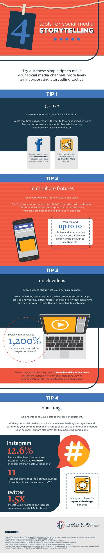 4 Social Media Marketing Tactics for 2018 - Infographic