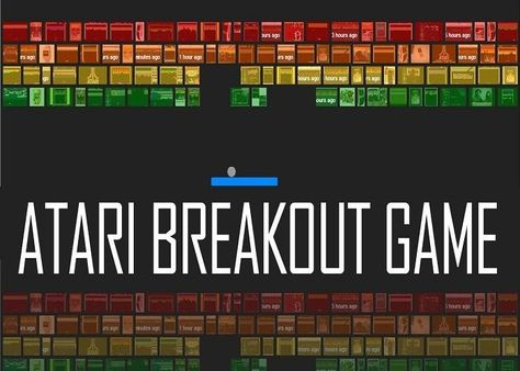 Atari Breakout Game Play Online For Free Breakout Game Atari Breakout Atari