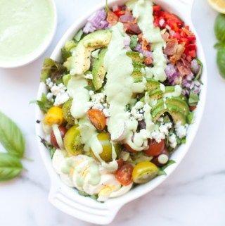 Recipes Lillie Eats And Tells In 2020 Cobb Salad Recipe Cobb Salad Macro Friendly Recipes