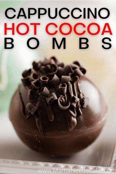 Hot Chocolate Bombs take just a few ingredients and you can make a variety of flavors! You can make these hot cocoa bombs into coffee bombs by adding your favorite cappuccino flavor! #hotcocoabombs… More Hot Chocolate Gifts, Chocolate Almond Bark, Christmas Hot Chocolate, Hot Chocolate Bars, Hot Chocolate Mix, Hot Chocolate Recipes, Chocolate Coffee, Melting Chocolate, Chocolate Marshmallows